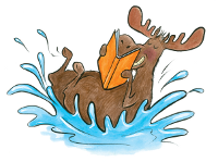 Make a Splash - Moose