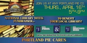 Library Week Portland Pie Cares Social Media