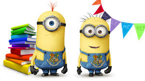 Image result for minions reading