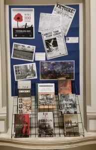 Armistice Day/WWI 100th anniversary display
